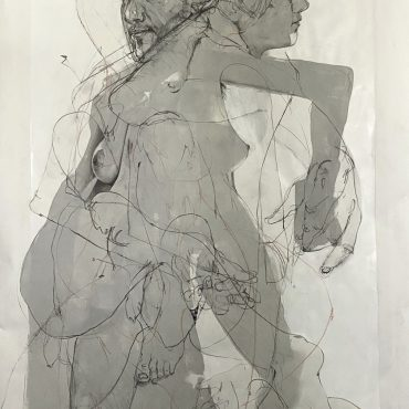 From Life (Drawing 1)